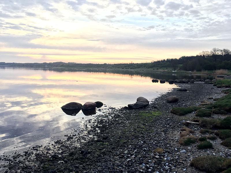 Klar til at lede efter havørreder i fjorden.